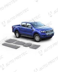 AutoProtec Unterfahrschutz 6 mm - Set Ford Ranger 2.2 TDCi