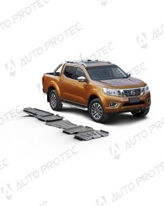 AutoProtec Unterfahrschutz 6 mm - Set Nissan Navara