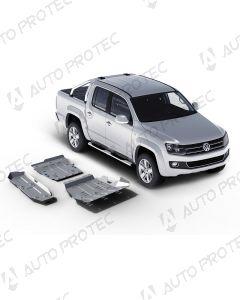 AutoProtec Unterfahrschutz 4 mm - Set Volkswagen Amarok 2.0 TDI