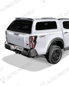 AEROKLAS hardtop Fleet - Isuzu D-Max stylish seitliche Aufklappfenster 2020-