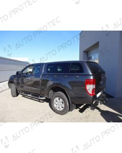 AEROKLAS hardtop Ford Ranger SPC stylish - seitliche Aufklappfenster