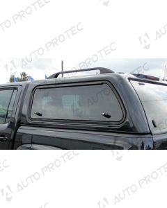 AEROKLAS Volkswagen Amarok boční okno výklopné nahoru - levé