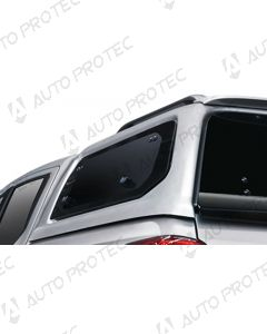 AEROKLAS Mitsubishi L200 boční okno výklopné nahoru - levé