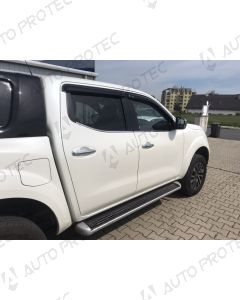 EGR Wind Deflectors 4 pieces – Nissan Navara