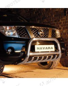 STEELER Front bar type A - Nissan Navara D40 3.0 V6