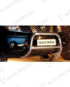 STEELER Front bar type C - Nissan Navara D40 2.5