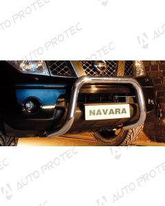STEELER Front bar type D - Nissan Navara D40 3.0 V6