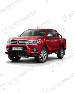 STEELER Front black bar type E - Toyota Hilux
