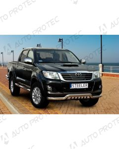 STEELER Front bar type B - Toyota Hilux 05-15