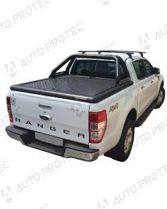 UpStone Black Aluminium Tonneau Cover - Ford Ranger