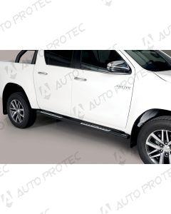 MISUTONIDA Schwellerrohre schwarz - design Toyota Hilux