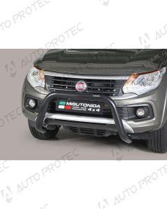 MISUTONIDA Frontbügel schwarz Fiat Fullback 76 mm