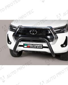 MISUTONIDA Frontbügel schwarz Toyota Hilux 76 mm 2020-