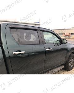 EGR Wind Deflectors 4 pieces – Toyota Hilux 15-20