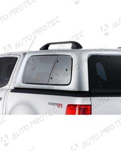 AEROKLAS Ford Ranger Raptor seitliche Aufklappfenster – links