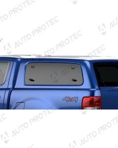 AEROKLAS Ford Ranger boční okno výklopné nahoru - levé