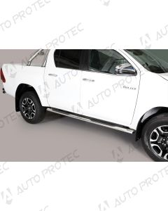 MISUTONIDA Schwellerrohre – oval Toyota Hilux 15-