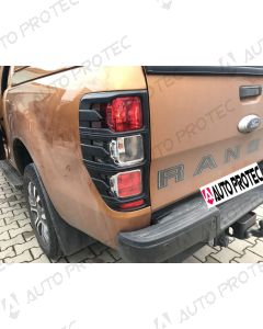 AutoProtec Rear Tail Light Cover Type B – Ford Ranger