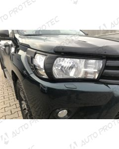 AutoProtec Front Headlight Cover – Toyota Hilux 15-20