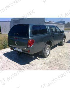 AEROKLAS hardtop Mitsubishi L200 stylish - seitliche Schiebefenster 09-15