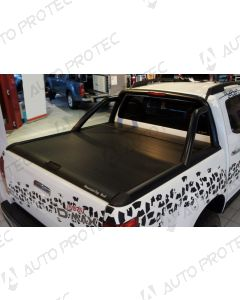 Mountain Top Roll Cover black - Isuzu D-Max SC