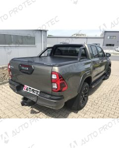 Mountain Top Roll Cover black - Toyota Hilux