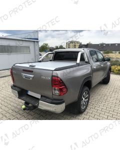 Mountain Top Roll Cover silver - Toyota Hilux
