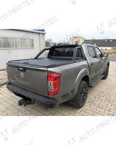 Mountain Top Roll Cover black - Renault Alaskan