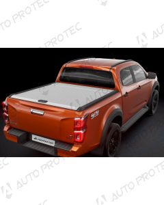 Mountain Top Roll Cover silver - Isuzu D-Max 2020-