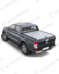 Mountain Top Roll Cover silver - Ford Ranger XL, XLT SC