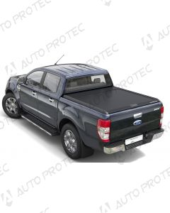 Mountain Top Roll Cover black - Ford Ranger XL, XLT SC
