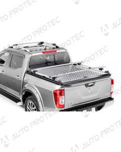 EGR Black Aluminium Tonneau cover - Nissan Navara