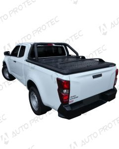 UpStone Black Aluminium Tonneau Cover - Isuzu D-Max SC 2020-