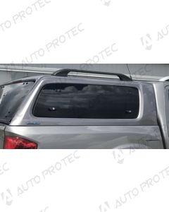 AEROKLAS Nissan Navara boční okno výklopné nahoru - pravé