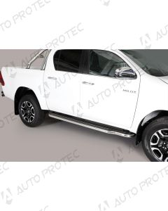 MISUTONIDA Schwellerrohre Toyota Hilux 15-
