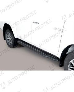 MISUTONIDA Schwellerrohre schwarz - Toyota Hilux