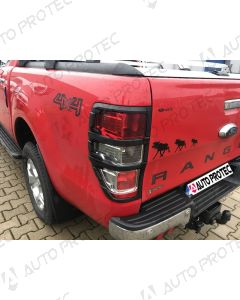 AutoProtec Rear Tail Light Cover Type A – Ford Ranger