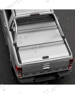 Mountain Top Roll Cover silver - Ford Ranger Limited SC