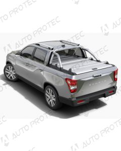 Mountain Top Roll Cover silver - SsangYong Musso