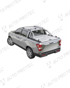 Mountain Top Roll Cover silver - SsangYong Musso Grand