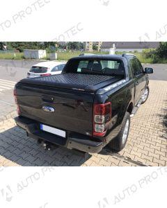 UpStone Black Aluminium Tonneau Cover - Ford Ranger Wildtrak