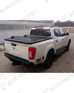 UpStone Black Aluminium Tonneau Cover - Nissan Navara