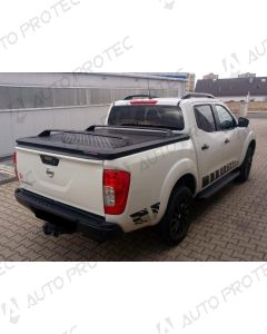 UpStone Black Aluminium Tonneau Cover - Renault Alaskan