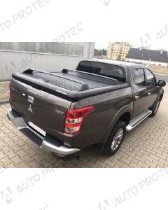 UpStone Black Aluminium Tonneau Cover - Fiat Fullback