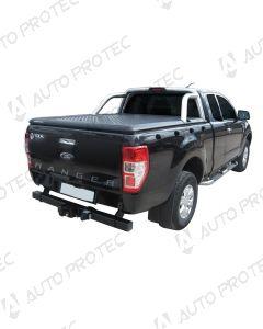 UpStone Black Aluminium Tonneau Cover with OE bar - Ford Ranger